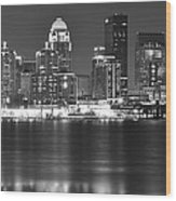 Louisville Kentucky Wood Print