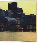 Louisville Lights Wood Print