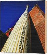 Louisville Slugger Bat Factory Museum Wood Print