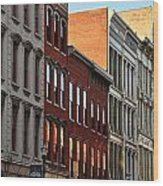 Louisville West Main Street Wood Print