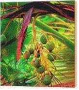 Loulu Palm Wood Print