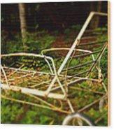 Lounge Chair Wood Print