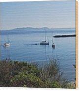Loutsi Bay 5 Wood Print