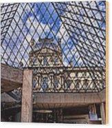 Louvre Museum Paris France Wood Print