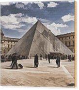 Louvre Museum - Paris Wood Print