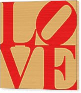 Love 20130707 Red Orange Wood Print by Wingsdomain Art and Photography
