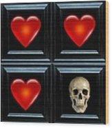 Love And Death II Wood Print