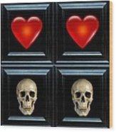 Love And Death Viiii Wood Print