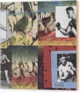Love And War Roaring 20s Wood Print