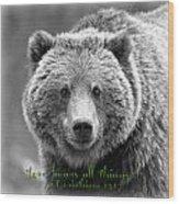 Love Bears All Things ... Wood Print