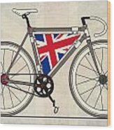 Love Bike Love Britain Wood Print by Andy Scullion