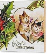 Love Cats Wood Print