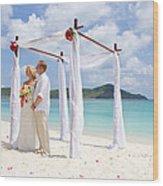 Love Ceremony Wood Print