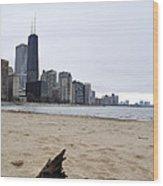 Love Chicago Wood Print