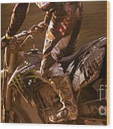 Love Enduro Wood Print
