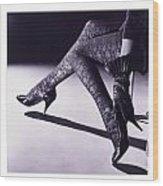 Love Great Legs Wood Print