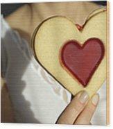 Love Heart Valentine Wood Print