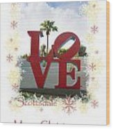 Put A Little Love In Your Heart Wood Print