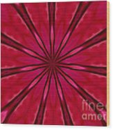 Love In An Orchid Kaleidoscope Wood Print