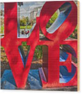 Love In City Park New Orleans Wood Print
