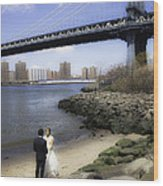 Love In The Afternoon - Dumbo Wood Print
