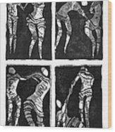 Love Is A Dance Wood Print