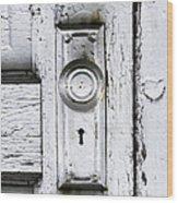 Love Is At Your Door Wood Print