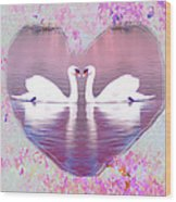 Love Is Everywhere Wood Print by Bill Cannon