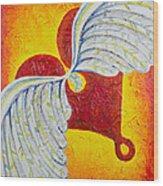Love Is Taking Flight Wood Print