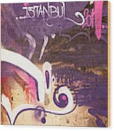 Love Istanbul 02 Wood Print