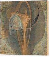 Love Letter Wood Print