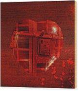 Love Locked Wood Print