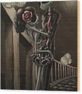 Love Wood Print by Lori Keilwitz