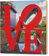 Love New Orleans  Wood Print