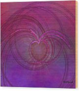 Love Of The Universe Wood Print
