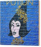 Love Potion Diagon Alley Wood Print