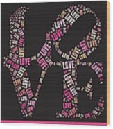 Love Quatro - S08a Wood Print by Variance Collections