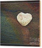 Love Stone - Framed Wood Print