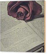 Love Stories Wood Print