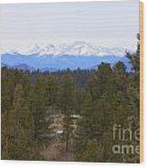 Lovell Gulch Hiking Trail Wood Print