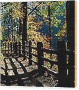 Lovely Day For Hike Wood Print