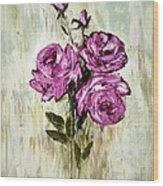 Lovely Roses Wood Print