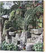 Lovely View Inside The Opryland Hotel In Nashville Tennessee 2009 Wood Print