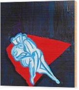 Lovers In Bluebells Wood Print