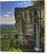 Lover's Leap Wood Print