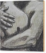 Lovers - Never Let Me Go Wood Print