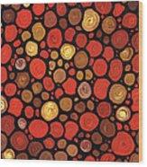 Lovers Wood Print by Sharon Cummings