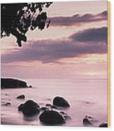 Lovina Sunset - Bali Wood Print