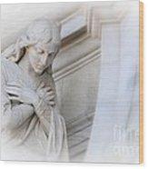 Loving Angel Wood Print