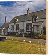 Low Newton By The Sea Wood Print